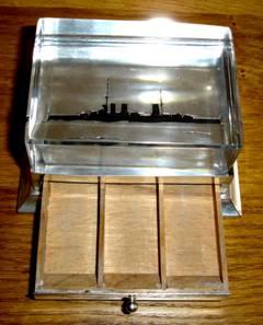 Postzegeldoosjes - Uitneembare glasplaat ...